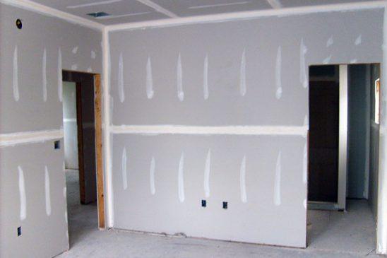 stavební práce - sadrokarton
